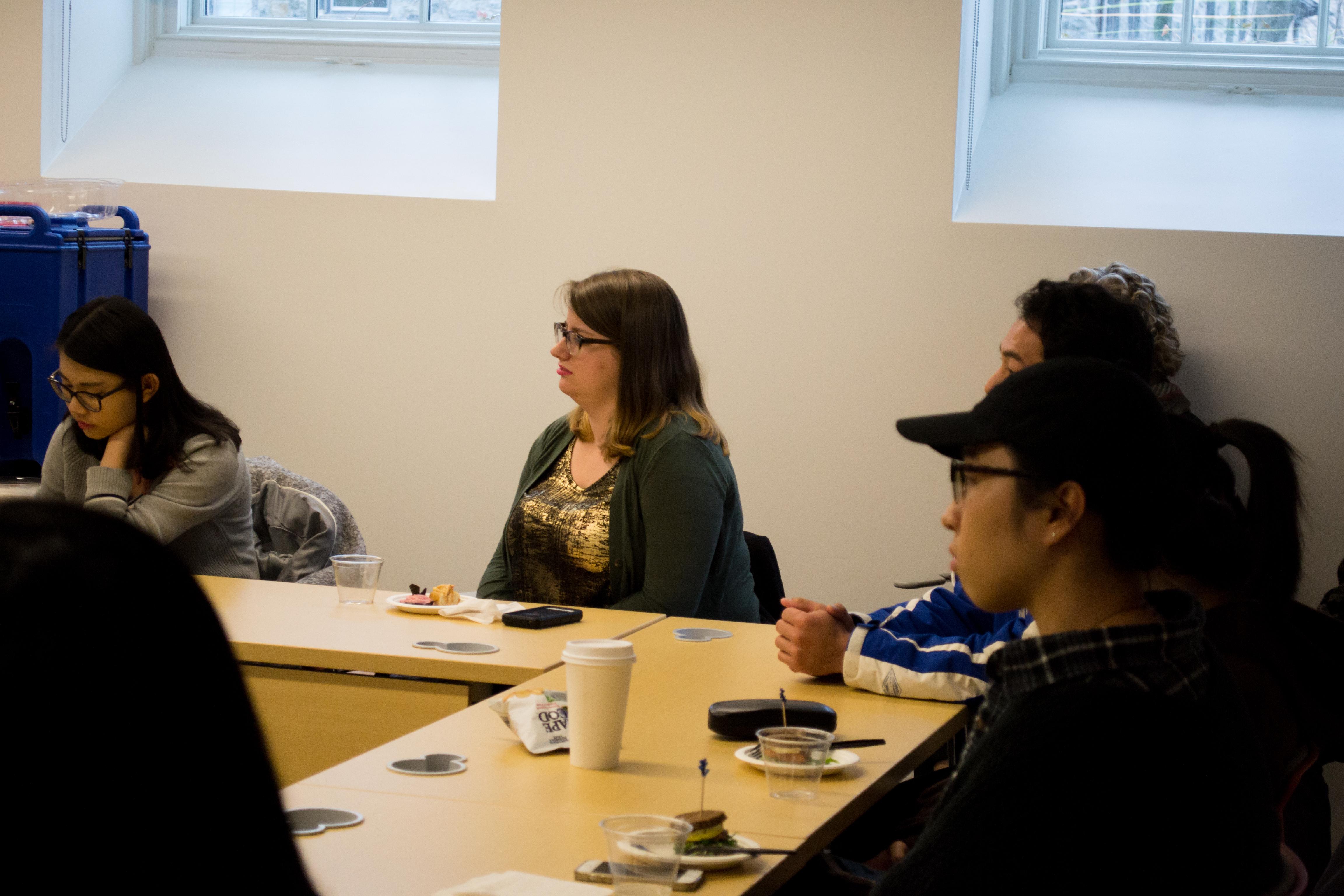 Lehigh University students attending the Asian Studies Spring Social