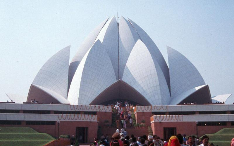 Lehigh University Asian Studies - Lotus Temple in Delhi