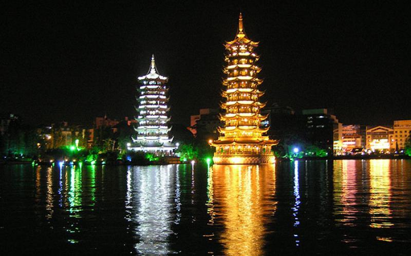 Lehigh University Asian Studies - Lake Shanhu Pagodas