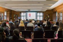 Professor, Lecture, from the back, Yang, Presentation, Cultural Revolution, Silent Gerenation