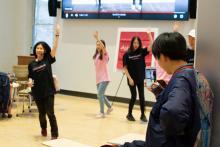 Lehigh Lunar New Year Celebration dancing