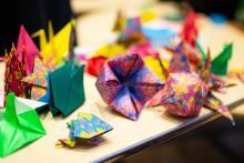 Lehigh Lunar New Year Celebration origami